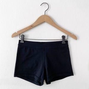 lululemon • short black workout / biker shorts